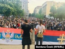 Protest je počeo ispred Crkve Svetog Marka u Beogradu