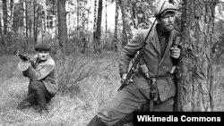 Савецкія партызаны ў 1943 годзе. Ілюстрацыйнае фота