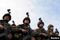 Учения НАТО в Польше, октябрь 2014 года