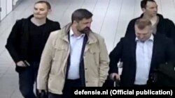 Нидерландтан шығарылған ресейлік хакерлер мен ГРУ офицерлері.