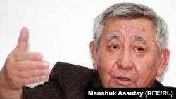 Диссидент Каришал Асанов. Алматы, 29 мая 2012 года.