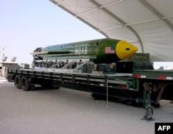 Бомба GBU-43/B MOAB, архівне фото