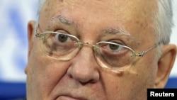 ССРО-ның тұңғыш әрі соңғы президенті Михаил Горбачев. Мәскеу, 21 ақпан 2011 жыл.