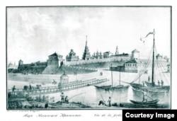 Вид Казани, где был арестован Локателли
