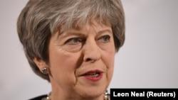 Kryeministrja britanike, Theresa May, foto nga arkivi