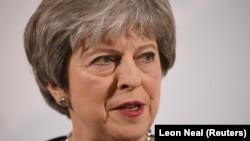 Ұлыбритания премьер-министрі Тереза Мэй. Лондон. 2 наурыз 2018 жыл.