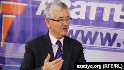Ученый-тюрколог Абдуакап Кара. Алматы, 22 мая 2015 года.