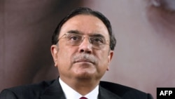 Former Pakistani President Asif Ali Zardari (file photo)