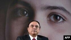 Пакистанскиот претседател Асиф Али Зардари.