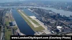 Сити аэропорту, Лондон, Британия.