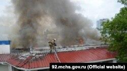 Пожар в дельфинарии Севастополя, 25 мая 2019 года