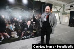 Андрей Дурейка, білоруський художник, фото з Facebook (автор Валерій Милосердов)