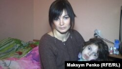 Тетяна Горбунова з маленькою Діаною