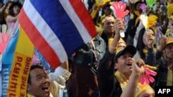 تظاهر کنندگان مخالف دولت تايلند، چند ماه است که دست به تظاهرات اعتراضی زده اند. (عکس: Afp)