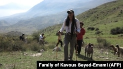 Iranian-Canadian environmentalist Kavous Seyed-Emami who died in detention in Tehran in early 2018, undated
