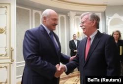 Лукашэнка і Болтан