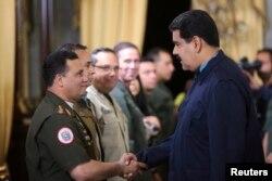 Николас Мадуро встречается с семью высшими чиновниками Венесуэлы, против которых США ввели персональные санкции. 10 марта