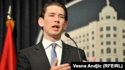 Глава австрийского МИДа и действующий председатель ОБСЕ Себастьян Курц