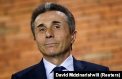 """""""I will honestly say that at the end of my political career, one of the things that makes me grieve is that a state-minded and responsible opposition has not been formed yet"""" that would help Georgia """"meet the standards of European parliamentary democracy,"""" Ivanishvili said in his farewell announcement. (file photo)"""