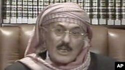 Претседателот на Јемен, Али Абдула Салех.