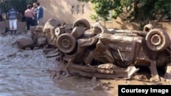 سیل در استان هرمزگان تلفات جانی برجای گذاشت
