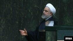 حسن روحانی در جلسه روز سهشنبه مجلس