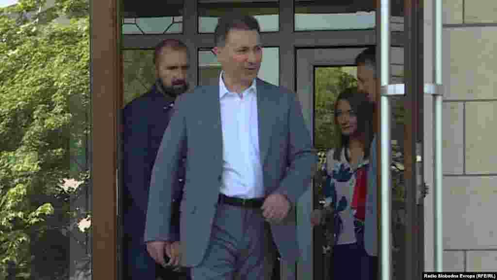МАКЕДОНИЈА - Ослободителна пресуда за поранешниот премиер Никола Груевски побара адвокатот Димитар Дангов во воведното обраќање пред судот во предметот на СЈО Титаник. На претходното рочиште, обинителката Лиле Стефанова во воведот побара да се конфискува имот на обвинетите Груевски и Мартин Протуѓер во вредност од над 550 илјади евра.