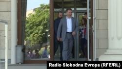 """Архивска фотографија- поранешниот премиер Никола Груевски во судот на рочиште за предметот """"Титаник"""""""