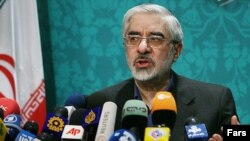 Mir Hossein Musavi (file photo)
