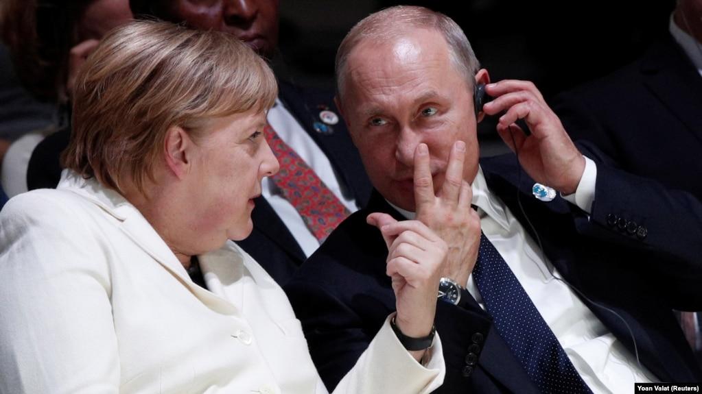Путин и Меркель встретились на саммите «Большой двадцатки»
