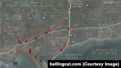Наступление на Мариуполь: точки на территории России, откуда велись обстрелы, и их направления