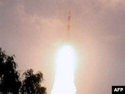 """Успешный запуск лунного спутника """"Чандраян-1"""". 22 октября 2008 года"""