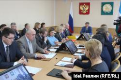 Заседание ЦИК Башкортостана
