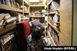 Так выглядае зараз бібліятэка ТБМ