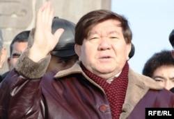 Ақын Мұхтар Шаханов. Алматы, 16 желтоқсан 2009 ж.