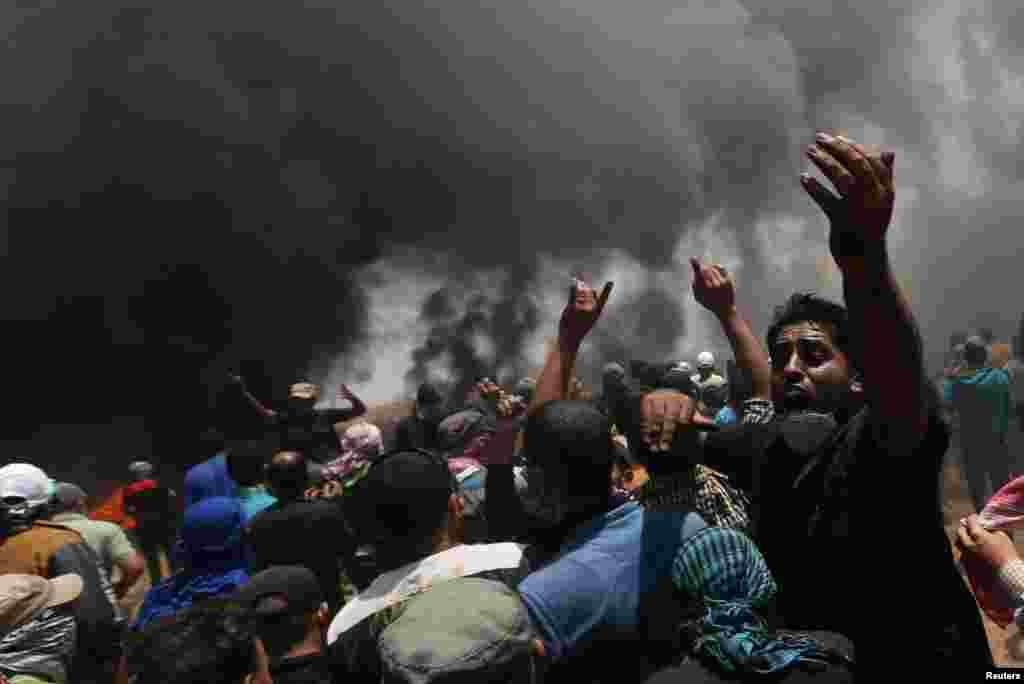 Газа секторындағы қақтығыс.