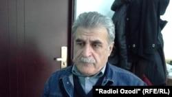 Исхок Табаров, адвокат таджикского предпринимателя и лидера незарегистрированной партии «Новый Таджикистан» Зайда Саидова.