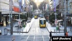 وضع محدودیتهای ناشی از کرونا در شهر میلبورن استرالیا
