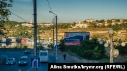 Aqyarda Geroyev Sevastopolâ soqağı (arhiv süreti)