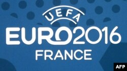 The Euro 2016 finals logo
