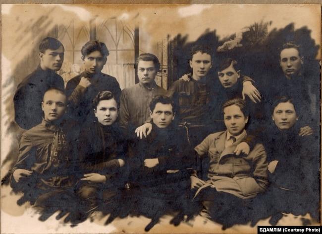 Літаратурнае аб'яднаньне «Маладняк», 1924 — 1925 гг. З фондаў БДАМЛМ