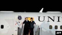 Clinton dhe Ashton në Kosovë