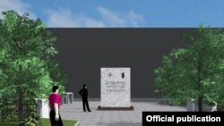 """Memoriali i NATO-s në Sheshin """"Nënë Tereza"""""""
