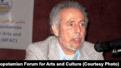 الشاعر فوزي كريم يتحدث في منتدى الرافدين للثقافة والفنون في مشيغان