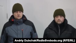 Bohdan Martson and Ihor Dzyubak after their release