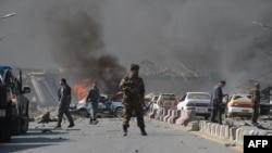 Мощный взрыв в Кабуле. 31 мая 2017 года
