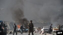 Massive Blast Hits Kabul's Embassy District