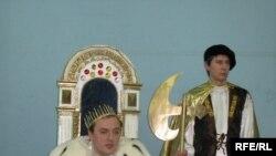 Під час «проголошення», Київ, 20 січня 2009 року