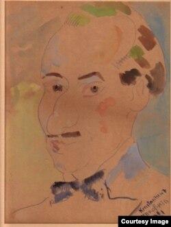 К. Терешкович, портрет А. Гингера, 1921