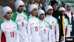 Иранның футболдан әйелдер ұлттық құрамасы